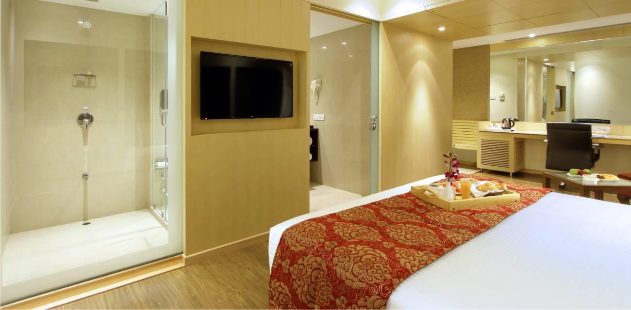 deluxe superior rooms booking baroda