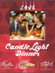 Perfect candle light dinner hotel in baroda