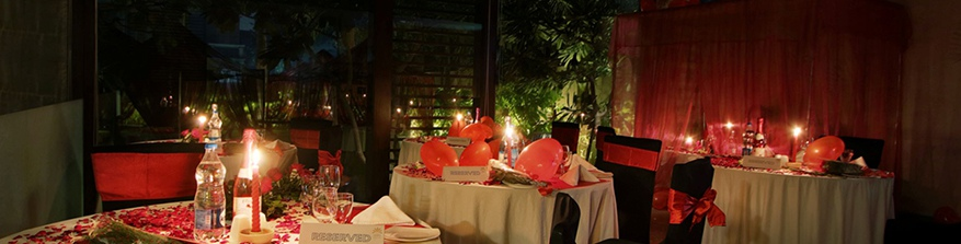 3 - Candle Light Dinner Package