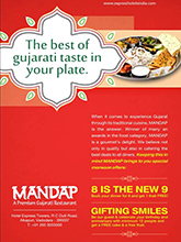 mandap restaurant baroda