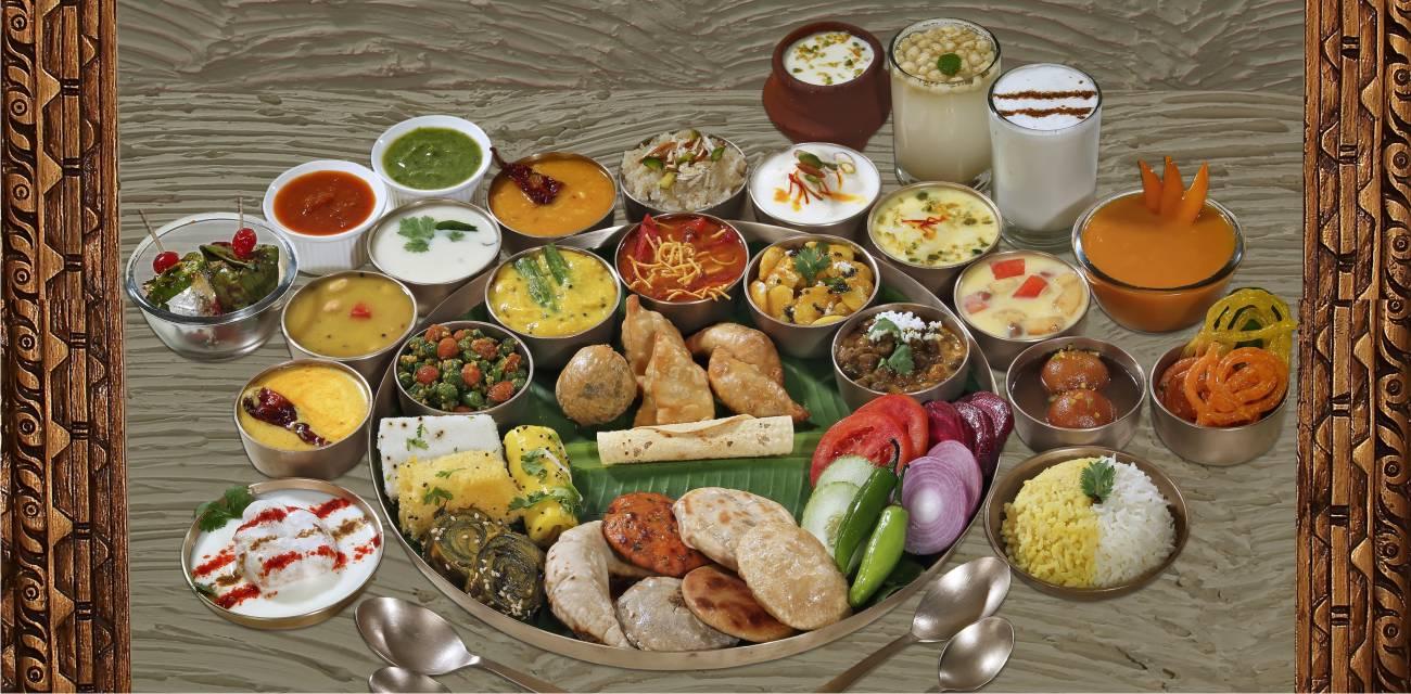 Gujarati thali in Vadodara