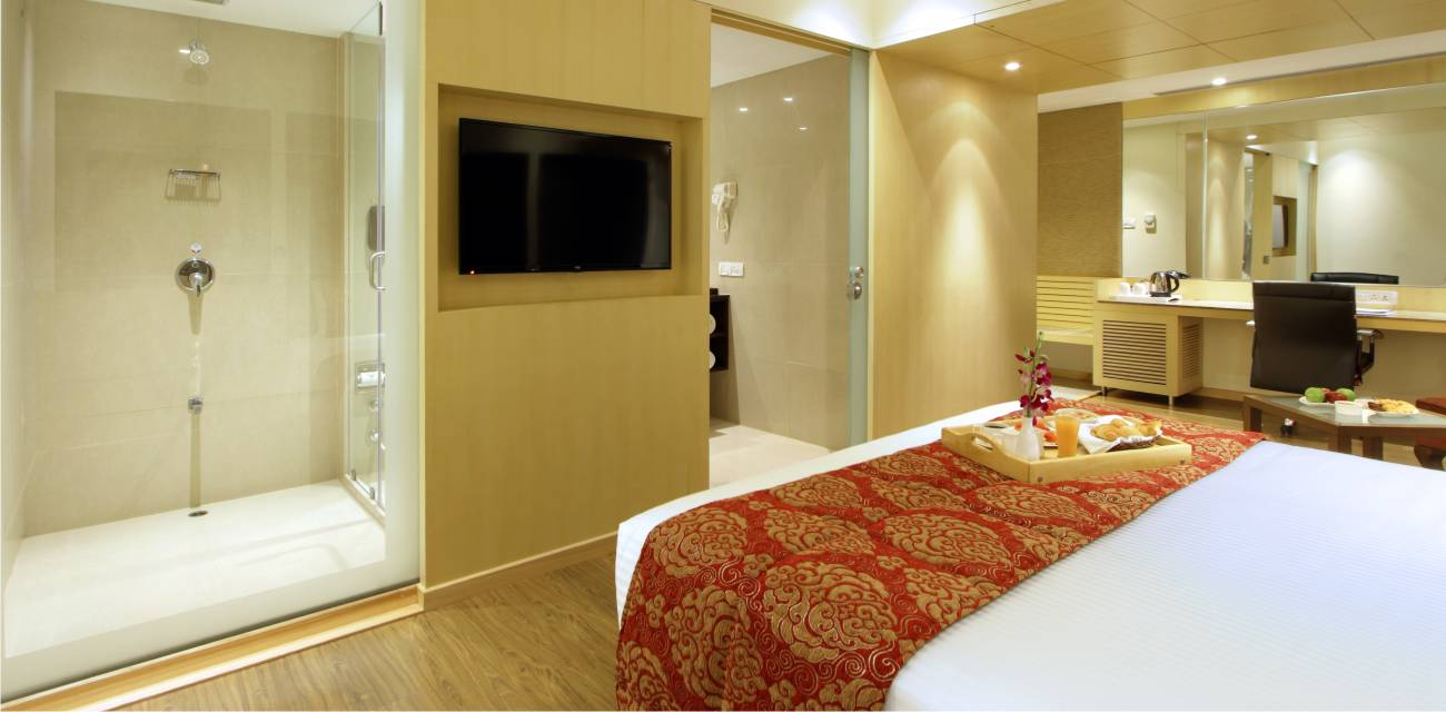 deluxe superior rooms booking baroda