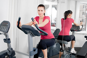 Gym facility in hotel Vadodara